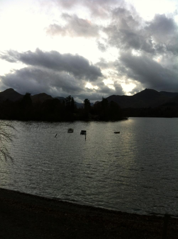 Wordsworthian moment on Derwent Water