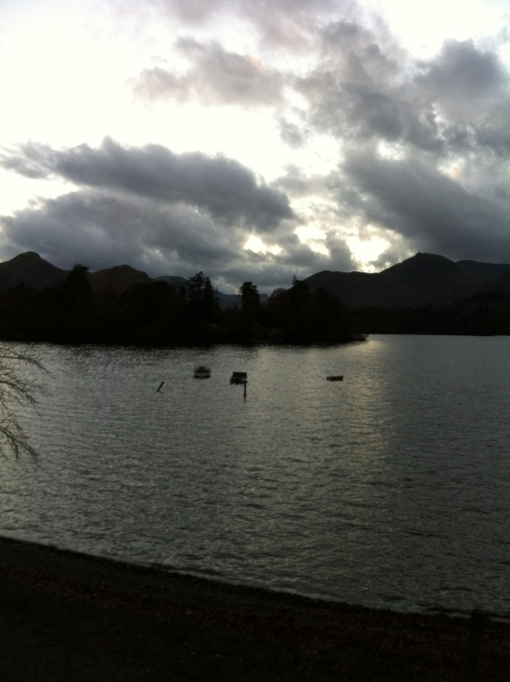 Wordsworthian moment on Derwent Water